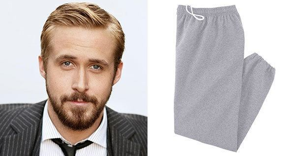 Ryan Gosling Cheated With Sweatpants