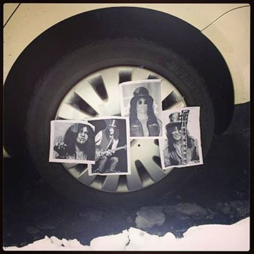 Slashed Tires
