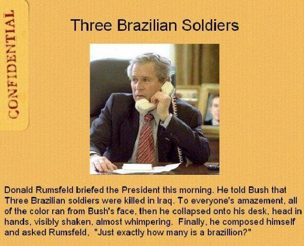 Three Brazilian Soldiers