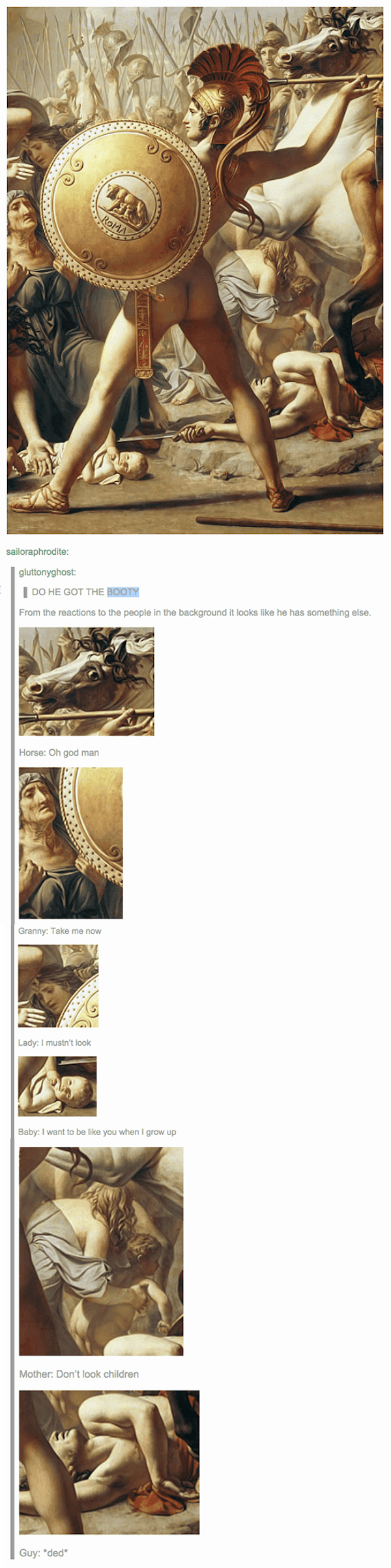 Tumblr Art History Butt