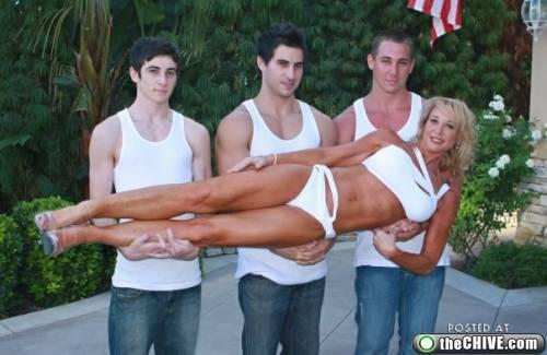 Uncomfortable Family Photos
