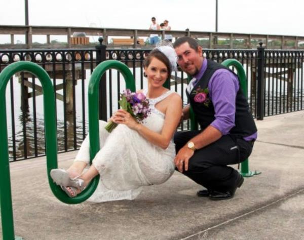 Weird Engagement Photo