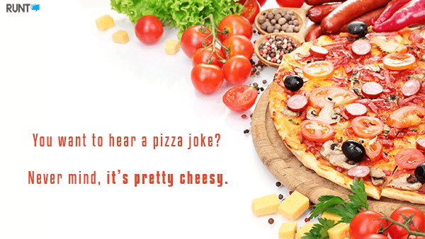 Cheesy Pizza Joke