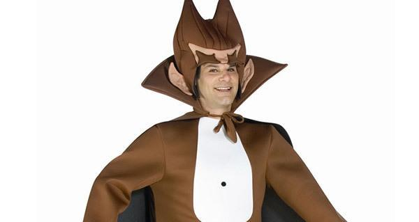 Man Dressed Up As Count Chocula For Halloween