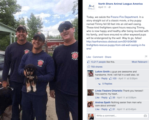 FDNY Rescues Puppy