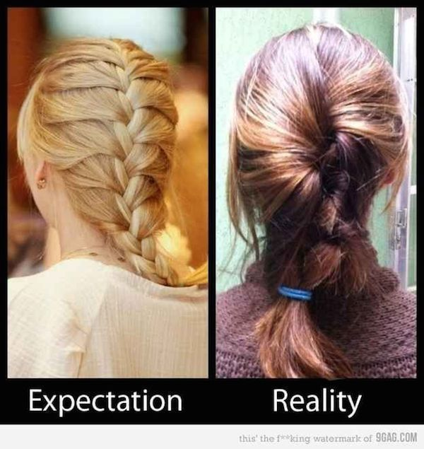 French Braid Fail