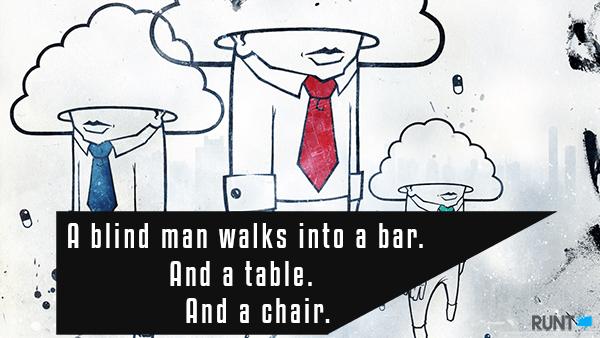 Funny Short Jokes Blind Man