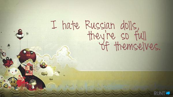 Funny Short Jokes Russian Dolls