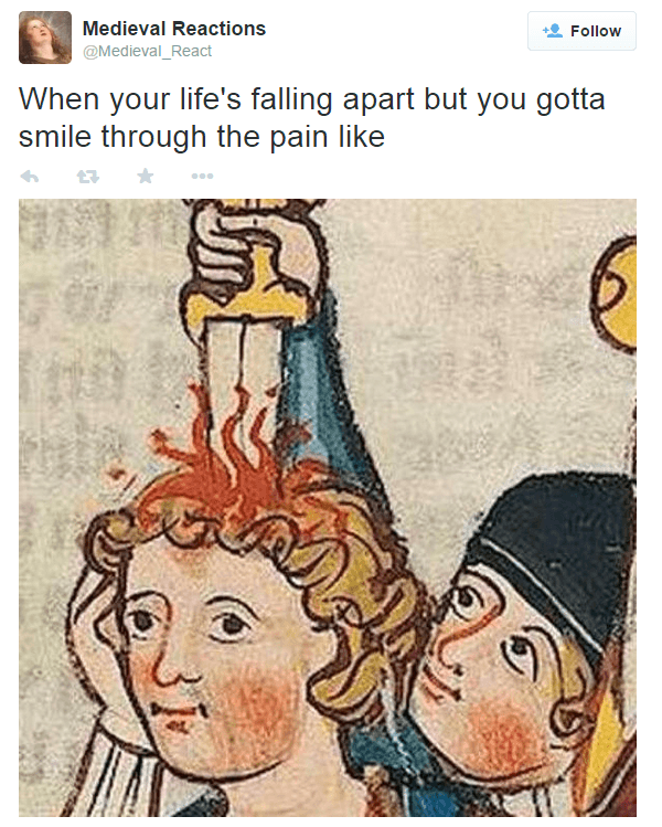 Hilarious Medieval Reactions