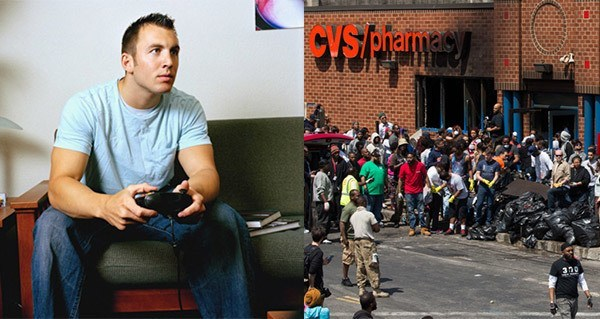 Man Calls Baltimore Riots Immature
