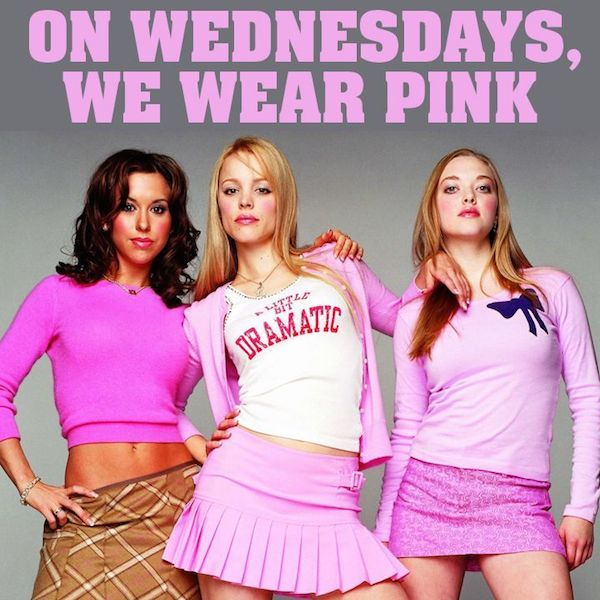 Mean Girl Quotes Pink
