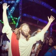 Every day is a party once you accept Jesus Christ as your Lord and Savior.