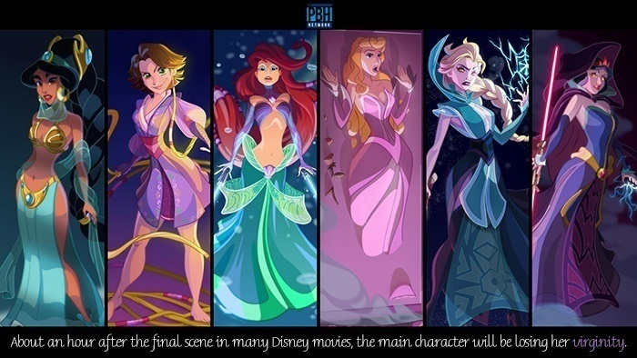 Shower Thoughts Disney Movies
