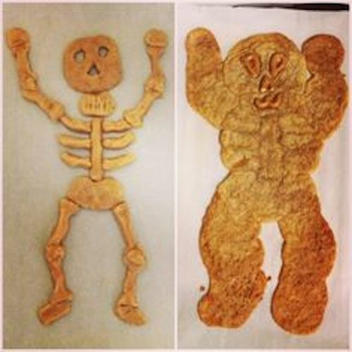 Skeleton Cookie Fail