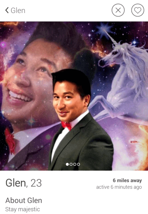 Tinder Stay Majestic