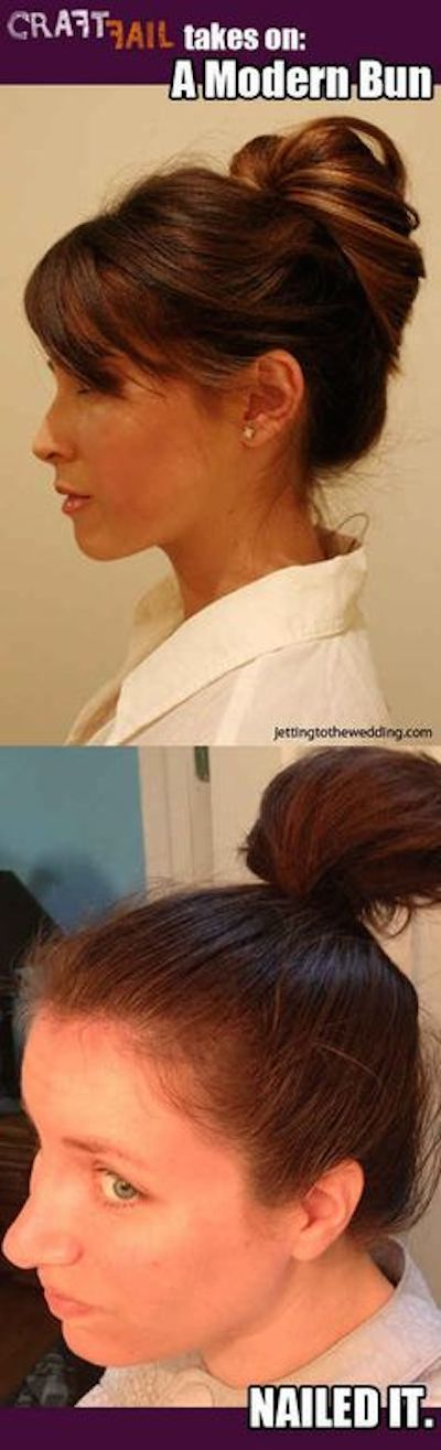 Updo Donts