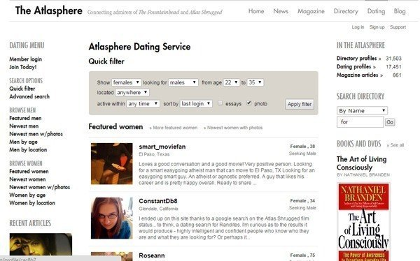 Bizarre Dating Sites Atlasphere