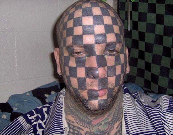 Checker Face