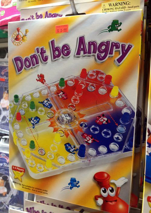 Don't Be Angry Bootleg Toys