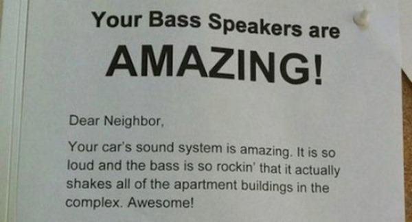 Funny Passive Aggressive Notes
