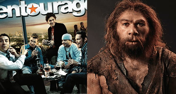 Hominid Entourage Movie