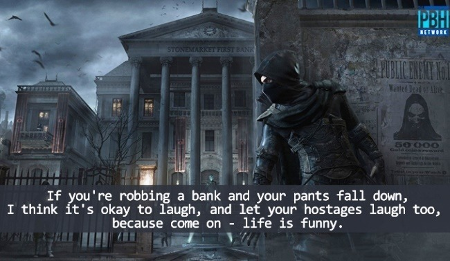 If You Are Robbing A Bank