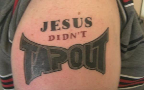 Jesus Tap Out