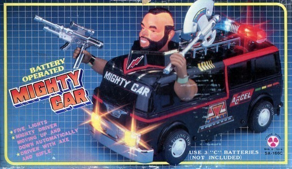 Mighty Car Bootleg Toys