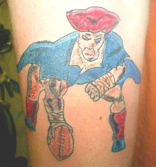 Patriots Tattoo