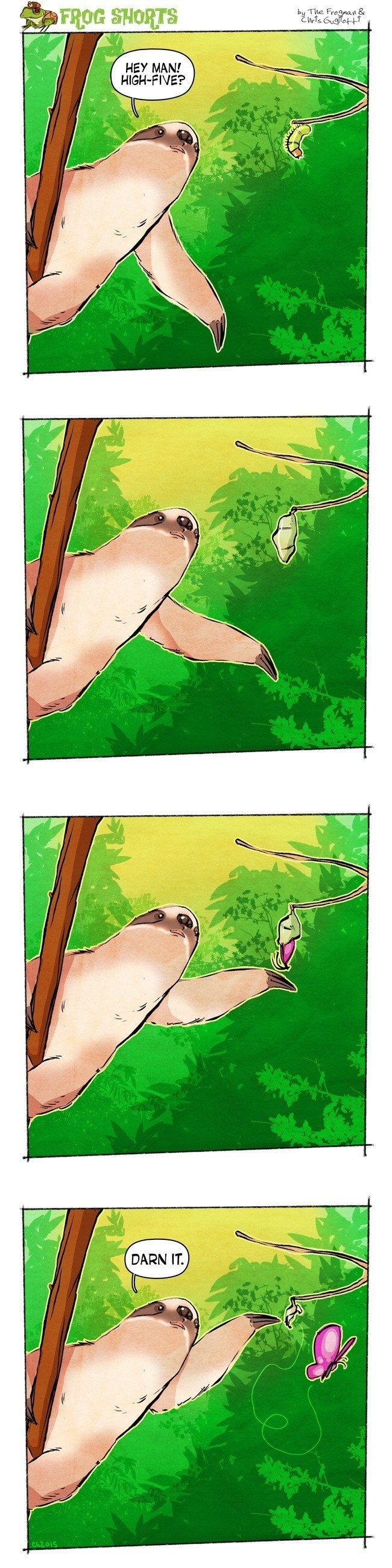 Sloth High Fives