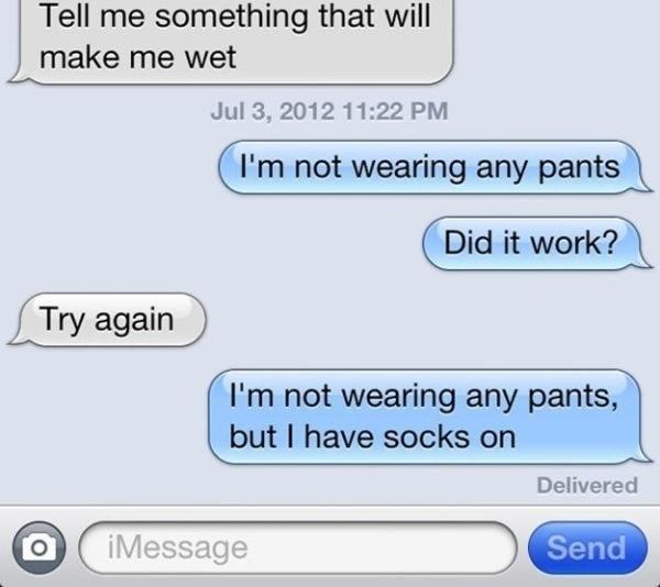 Socks And No Pants