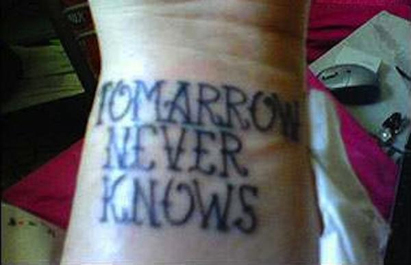 Tattoo Spell Check