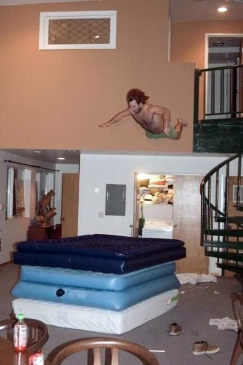 Air Mattress Dive