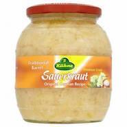 Sauerkraut.