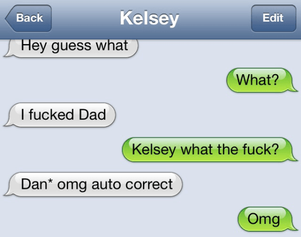 Damn You Autocorrect Fails