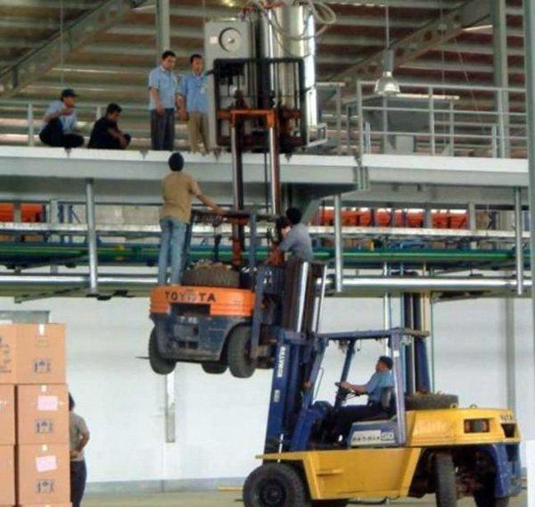 Forklift Why Women Live Longer Than Men