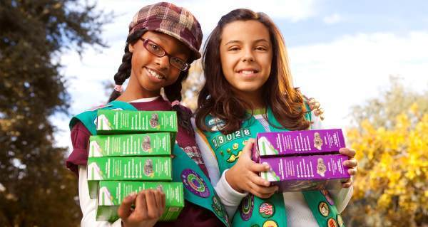 A Girl Scout comes to your door selling cookies. You tell her: