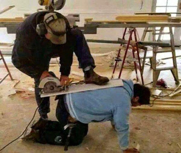 Human Table Saw