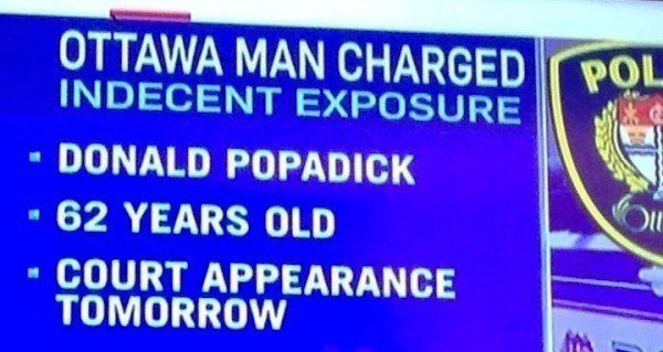 Indecent Exposure Name