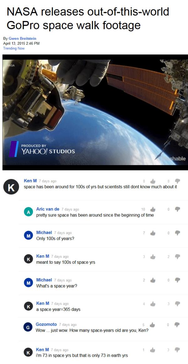 Ken M Space Years