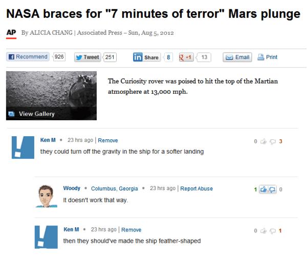 Mars Plunge