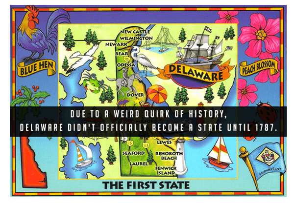 Stupid Fact About Delaware