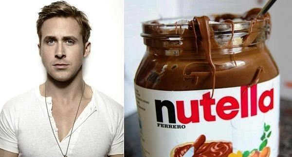Ryan Gosling Is A Jar Of Nutella