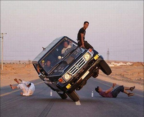 Truck Stunts Why Women Live Longer Than Men