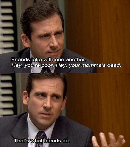 Michael Scott On Friends