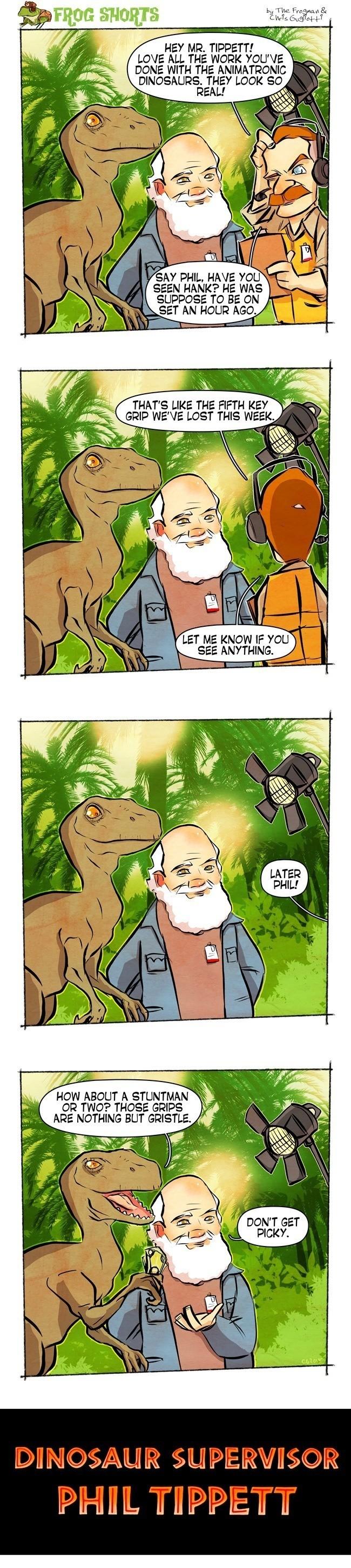Frog Shorts Dinosaur Supervisor