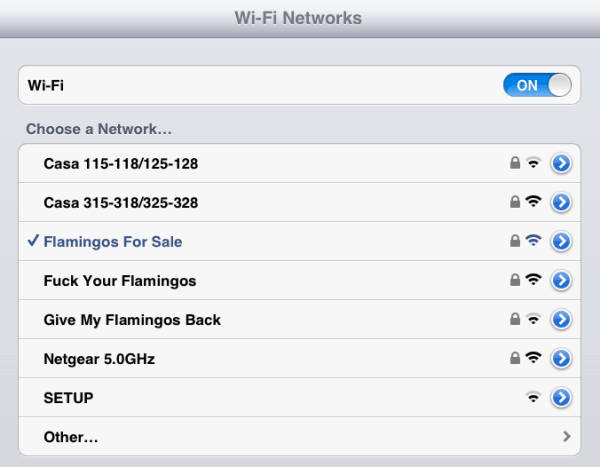 Funny Wifi Names Neighbors