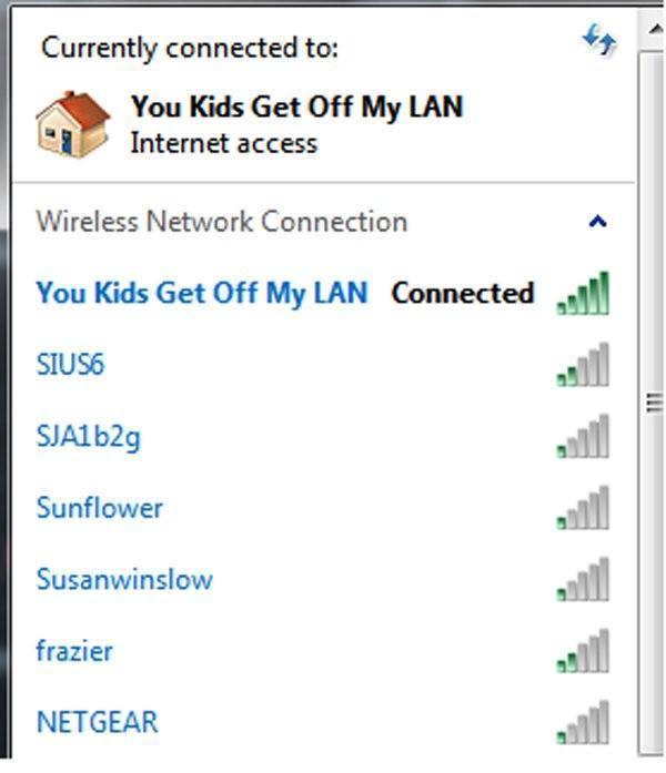 Get Off My Lan