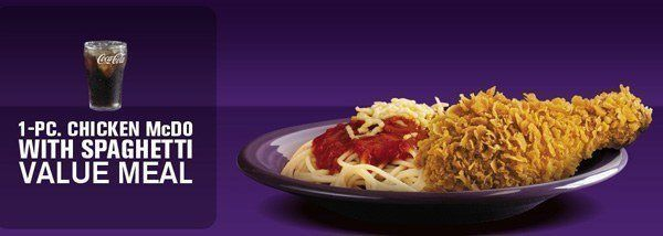 Spaghetti McDonalds