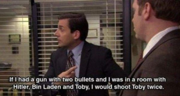 Michael Scott Quotes Toby
